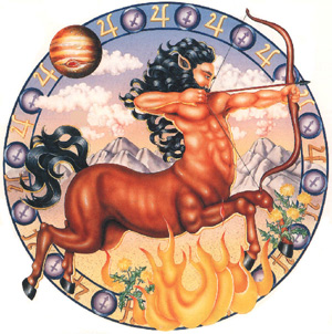 Astrological Illustration of Sagittarius